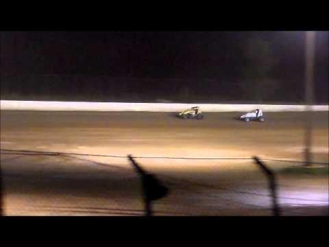 Matt Humphrey- Feature at Clay County Speedway 5-10-14