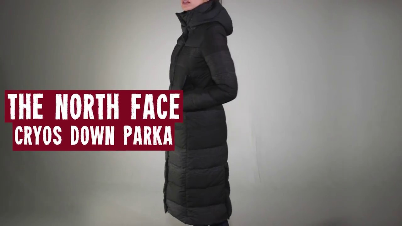 20ca32559c20 The North Face Women s Cryos Down Parka 2017 Review - YouTube