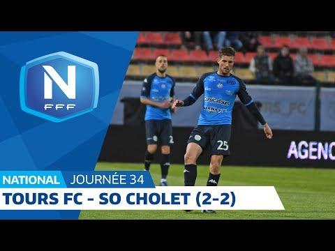 J34 : Tours FC - SO Cholet (2-2), le résumé I National FFF 2018 2019