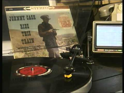 Johnny Cash , Ride this Train Vynil Side A