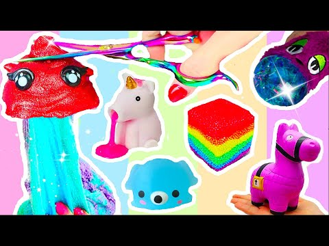 ANTI-STRESS SPIELZEUG ZERSCHNEIDEN COMPILATION 3 ! Cutting Open new Squishy Toys! #patti PatDIY