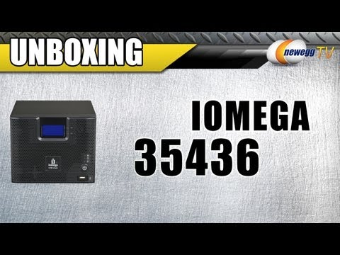 Newegg TV: iomega 4TB StorCenter Network Storage, Cloud Edition Unboxing