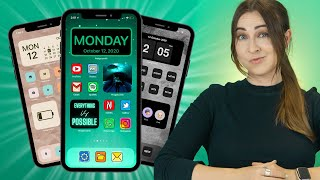 iOS 14 Home Screen Tips & Tricks - THAT NO ONE SHOWS YOU!!!