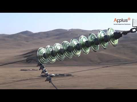 Applus Mongolia UAV Wind Turbine Powerline