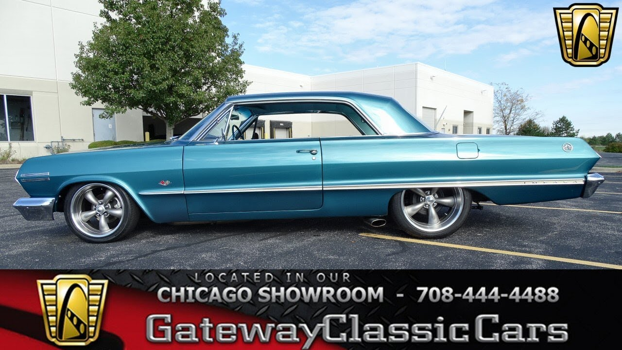 1963 Chevrolet Impala Gateway Classic Cars Chicago #1304