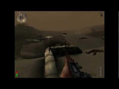 Medal of Honor Allied Assault Breakthrough HD Gameplay Walkthrough Mission 1 - Kasserine Pass
