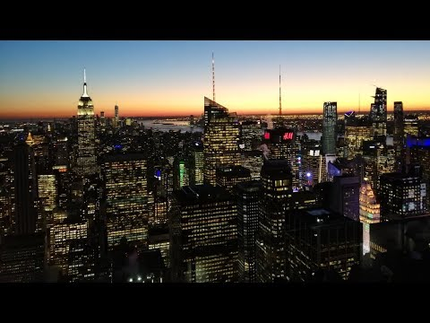 Top Of The Rock Observation Deck | Amazing Views Across New York City