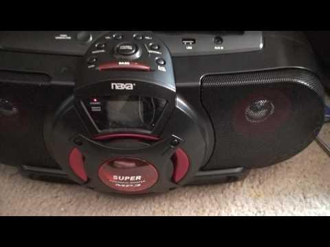 Naxa Portable AM/FM CD Cassette MP3 USB Stereo Model NPB-259 Review