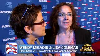 Wendy & Lisa discuss Shirley Walker - 2014 ASCAP Film & TV Awards
