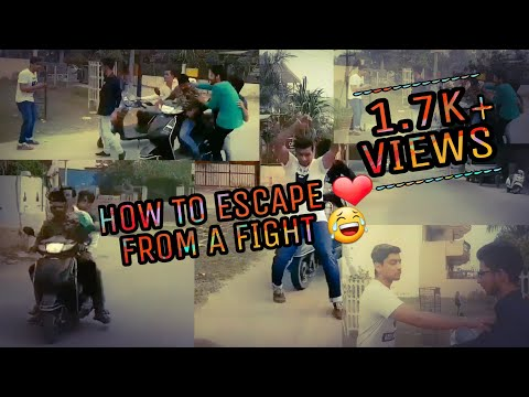 HOW TO ESCAPE FROM A FIGHT ❤😂 |♡| VISHAL CHHABRA |♡|