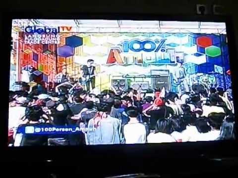 AEROB - Rasakan, Dengarkan ( Live at GLOBAL TV, 100% Ampuh )