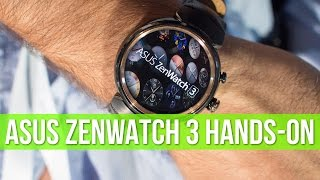 Asus ZenWatch 3 hands-on: a thing of beauty!