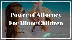 Power of Attorney for Minor Children