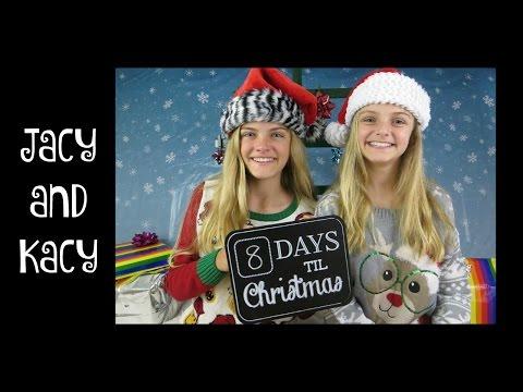 Countdown to Christmas 2015 ~ Day 17 ~ Jacy and Kacy