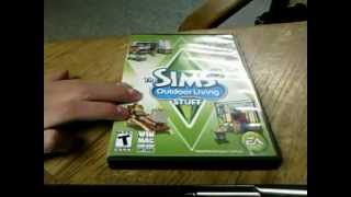 Sims 3 Outdoor Living Review/Unboxing
