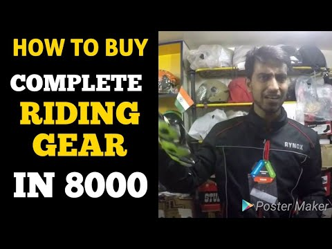 Complete Riding Gear Set in very low price - 동영상