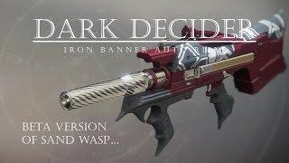 Iron Banner Grind Reward - Dark Decider - PVP Gameplay Review