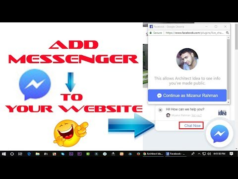 Add Facebook Chat To Your Website !!!