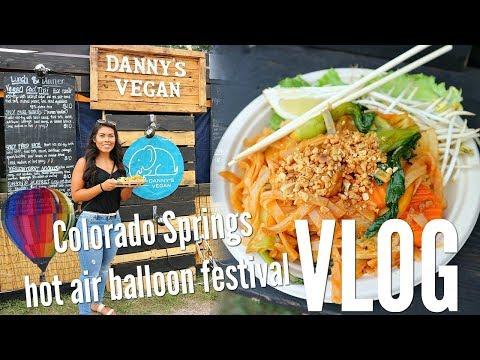 VLOG | Colorado Springs HOT air balloon festival