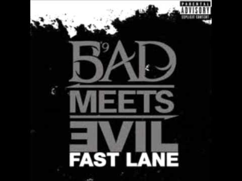 Bad Meets Evil - Fast Lane [Official Instrumental + Hook]