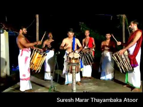 Suresh marar Thayambaka