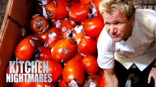 No-One Can Explain A Box of Rotting Tomatoes | Kitchen Nightmares