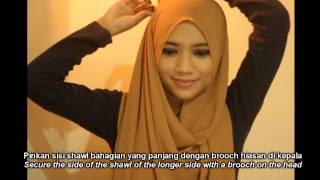 2 Minutes Simple Everyday Hijab Style