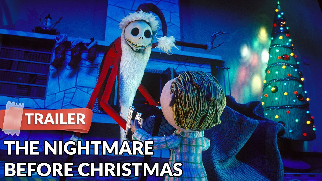 The Nightmare Before Christmas 1993 Trailer HD | Tim Burton - YouTube