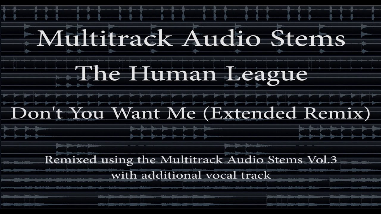The Human League - Don't You Want Me (Extended Remix