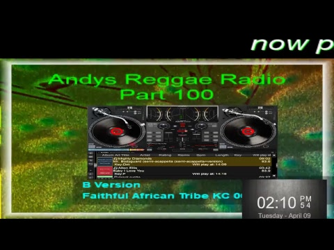Andys Reggae Radio-Part 100