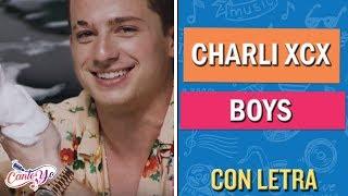 Boys - Charli XCX CON LETRA | Cantoyo Karaoke