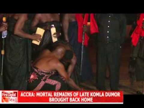 KOMLA DUMOR BODY IN GHANA