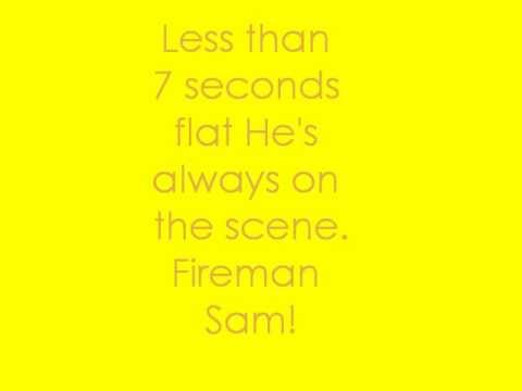 Fireman Sam-Lyrics