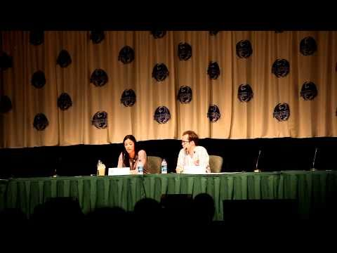 Erica Cerra's and Neil Grayston's experiences auditioning for Eureka