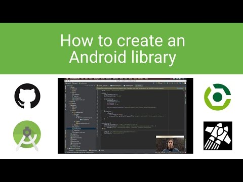 How To Create An Android Library. GitHub, Gradle, Jitpack.io Full Walkthrough.