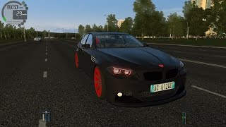 City Car Driving 1.5.1 BMW M5 F10 Vossen Tuning TrackIR 4 Pro [1080P]