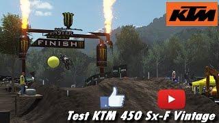 [FR] Mxgp 2 , test ktm 450 Sx-F vintage en vue GoPro [PS4]