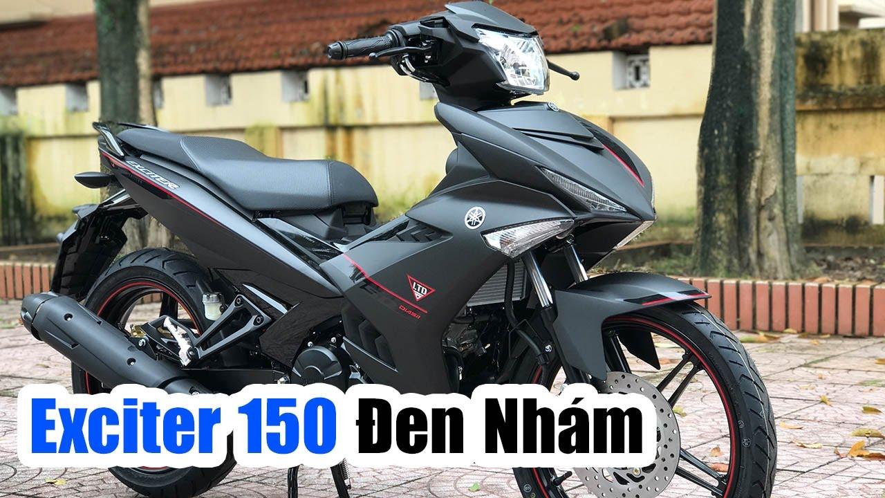 Yamaha Exciter 150 đen Nhám đánh Giá Chi Tiết