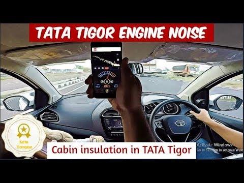 Engine Noise in Running Tigor VS Stationary Tigor | Revving Each Gear up to 4k RPM