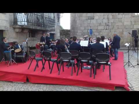 """Atuação da Associação Filarmónica de Vilar Seco no concerto """"43 anos de Abril"""" - 25/04/2017"""