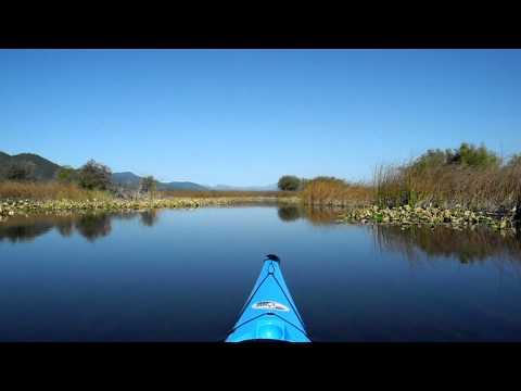 Kayaking Klamath Lake