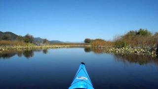 Kayaking Klamath Lake