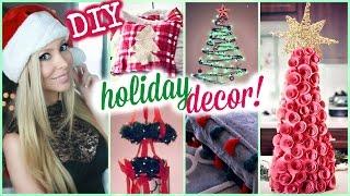 DIY Holiday Room Decor ❄ #HOLIDIY Thumbnail