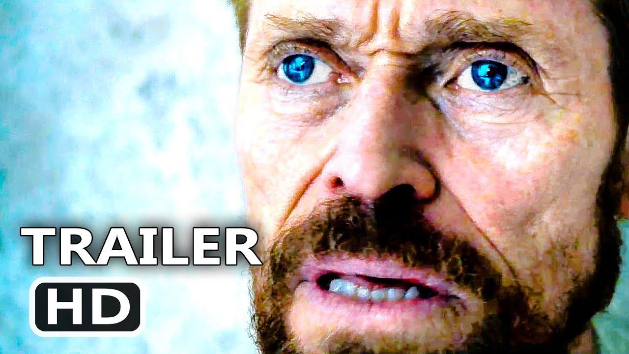 AT ETERNITY'S GATE Trailer (2018) Willem Dafoe, Van Gogh Movie
