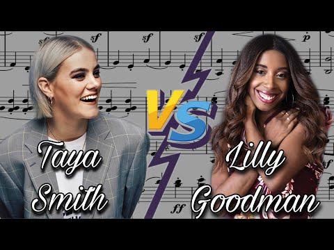 Taya smith VS Lilly Goodman. Vocal Battle C5-G5