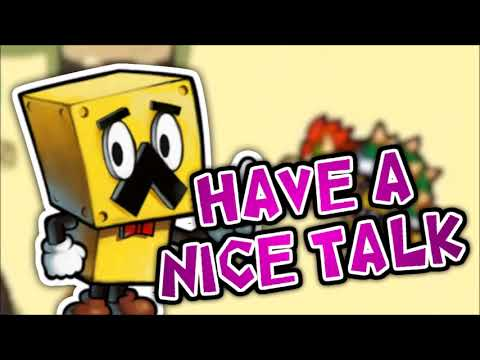 """""""Have A Nice Talk"""" - Bowser's Inside Story 3DS (Fan Music)"""