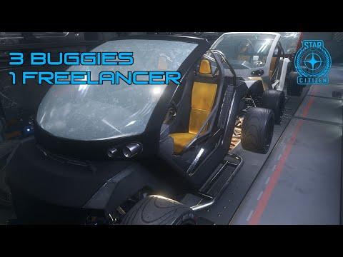 3 Buggies 1 Freelancer