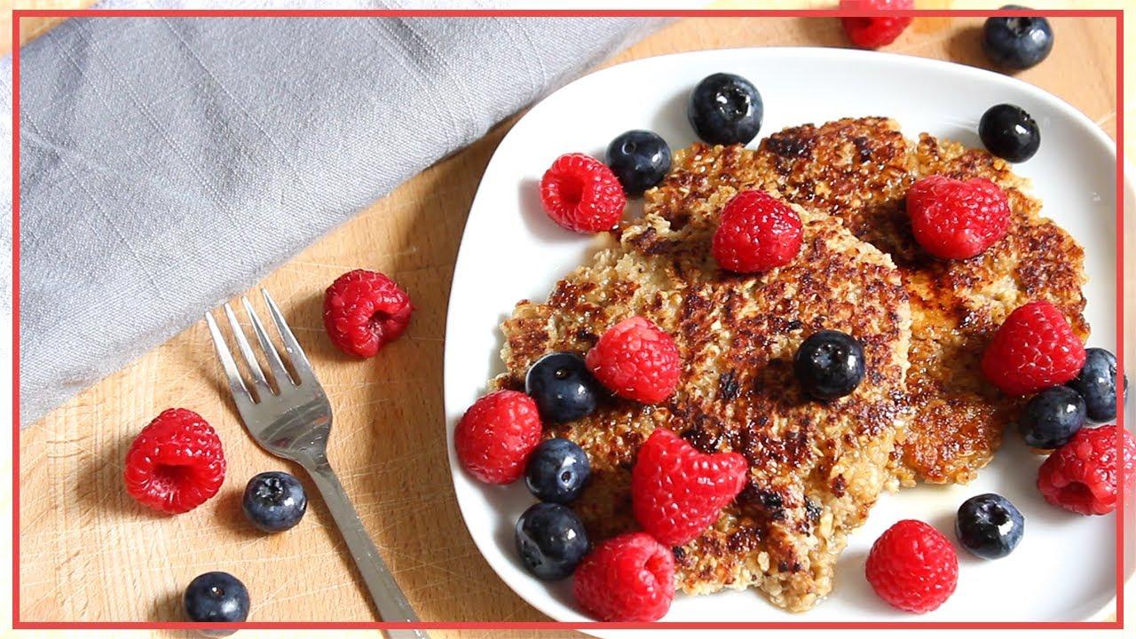 haferflocken pfannkuchen oat pancakes 3 zutaten gesund vegan lecker schnell youtube. Black Bedroom Furniture Sets. Home Design Ideas