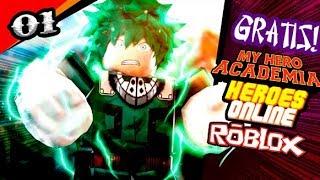 Heroes Online est maintenant gratuit! Meilleur Boku dans le héros de Roblox!