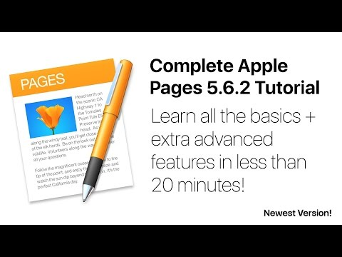 Complete Pages 5 Tutorial - Full quick class/guide + extras